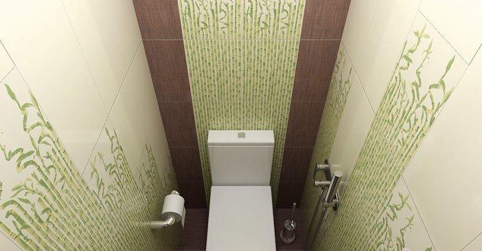 Туалет пвх панелями дизайн